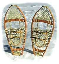 homemade snowshoes plans